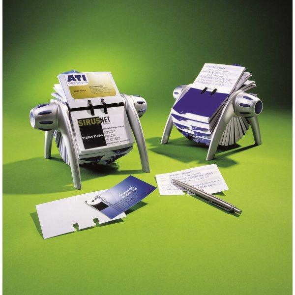 Visifix Flip visitkortholder, 400 kort, sort