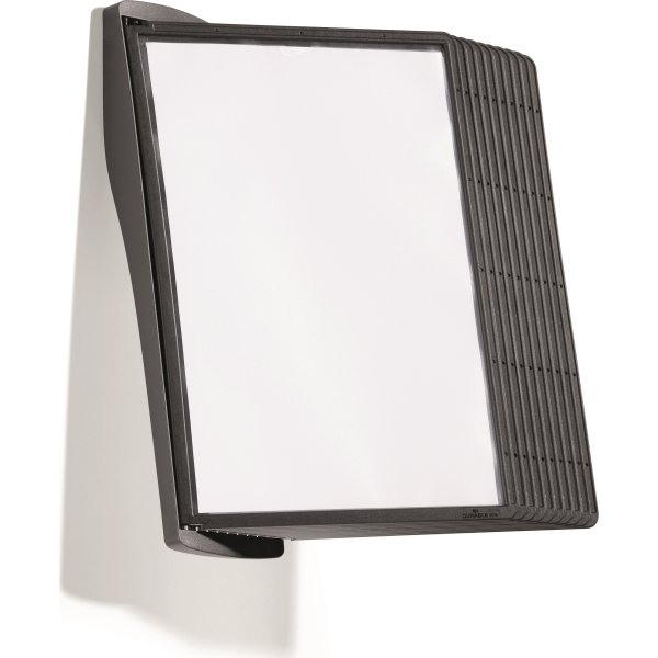 Durable Sherpa Style vægstander m/10 lommer, sort