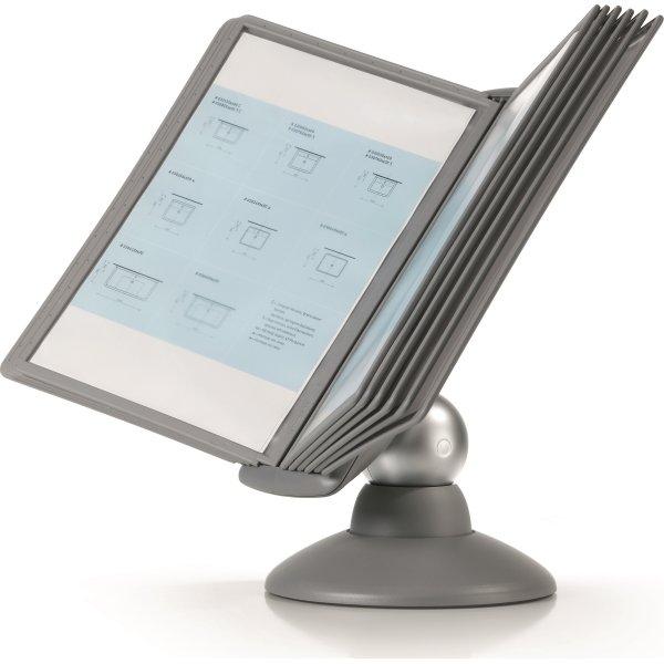 Durable Sherpa Motion 10 Bord Infosystem, grå