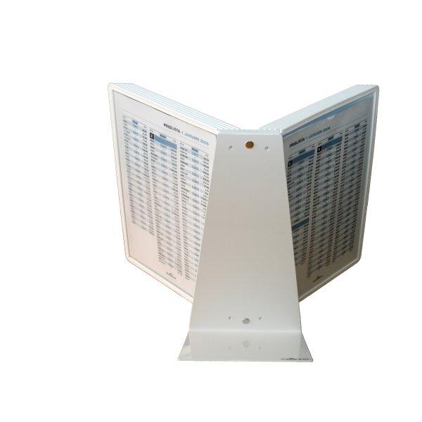 Durable Vario 10 Bord Infocenter, hvid