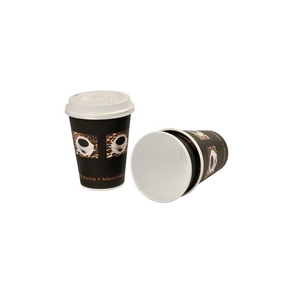 Kaffebæger 36 cl, pap, sort