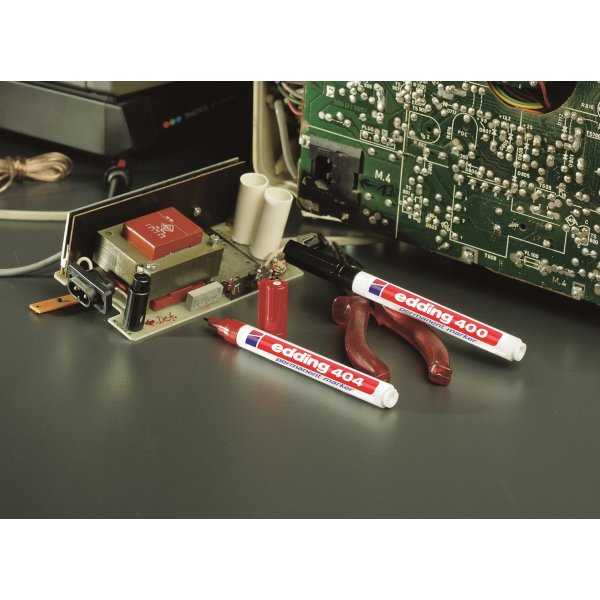 Edding 404 permanent marker, 0,75 mm, sort