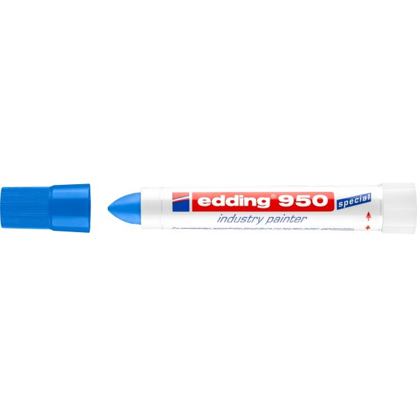 Edding Industrimarker 950, blå