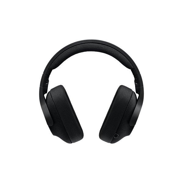 Logitech G433 7.1 Surround Gaming Headset, sort