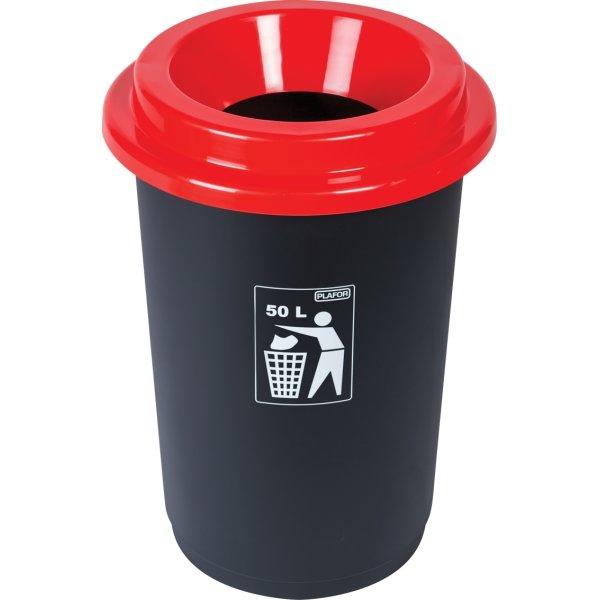 Minatol Affaldsspand ECO, 50 L, rød