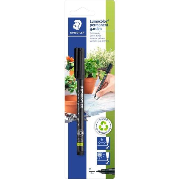 Staedtler Lumocolor 319 GM Garden Marker, sort