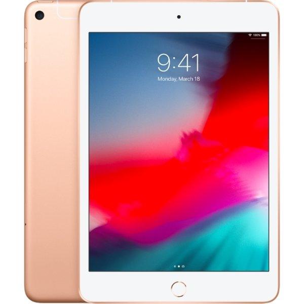 Apple iPad Mini, 64 GB, Wi-Fi + Cellular, Guld