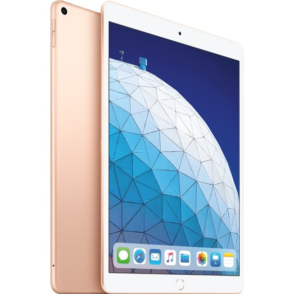 Apple iPad Air, 256GB, Wi-Fi + Cellular, Guld