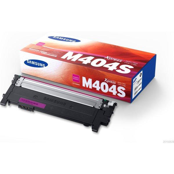 Samsung CLT-M404S lasertoner, magenta, 1100s.