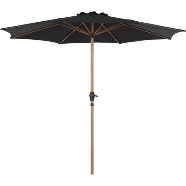 Parasol m/krank Ø3 m, Teak look