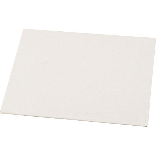 Malerplade, 18x24 cm x 3 mm, hvid