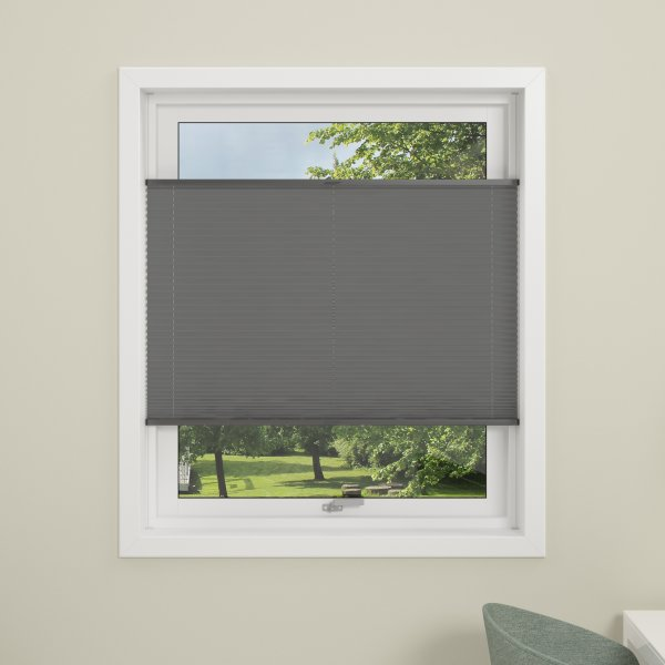 Debel Flex Plisségardin, 100x130 cm, Grå