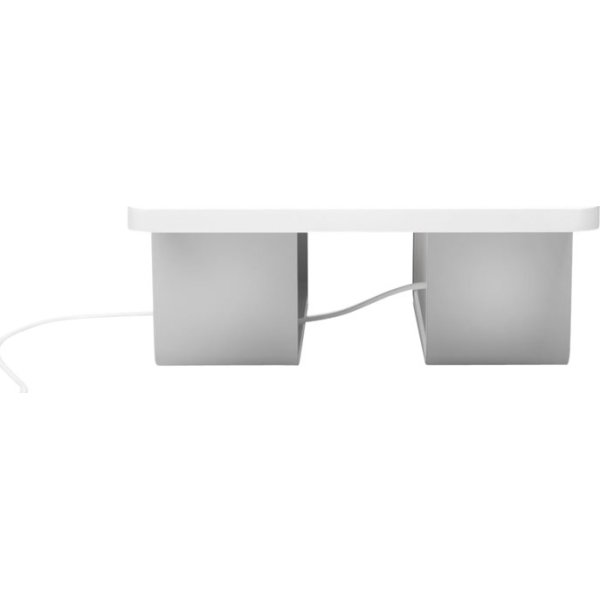 Kensington coolview wellness monitor stand, hvid