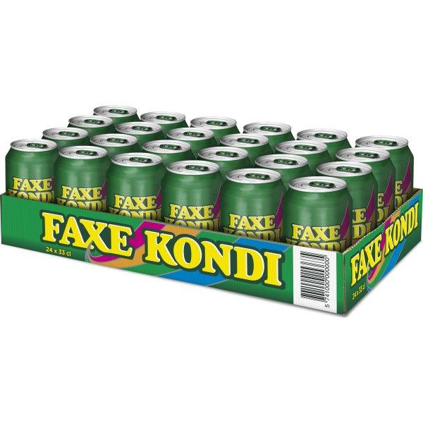 Faxe Kondi 33 cl inkl. pant