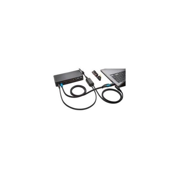 Kensington Dual USB-kabel PowerSplitter til SD4700