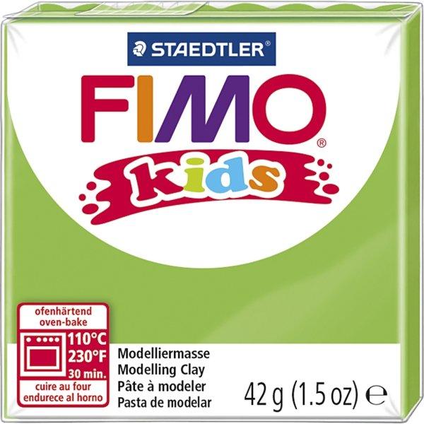 Fimo Kids Ler, 42 g, lysegrøn