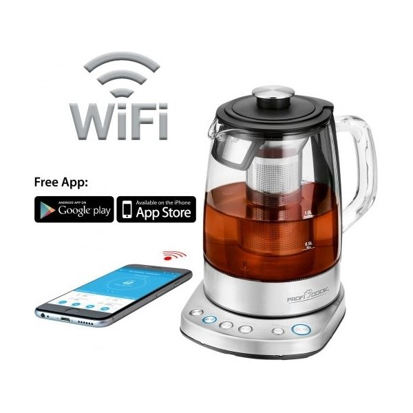 ProfiCook WKS 1167 Te/kaffe kedel, 1.5 L