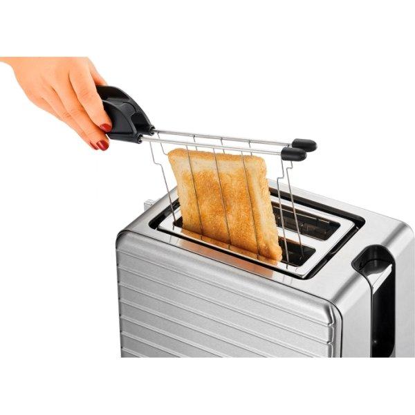 ProfiCook TAZ 1110 2-slice Toaster, stål
