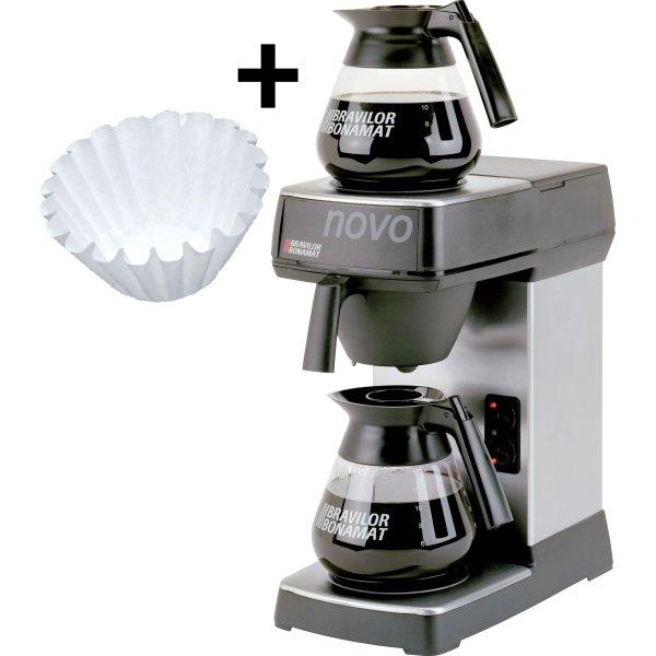Bonamat Novo2 kaffemaskine, sampak