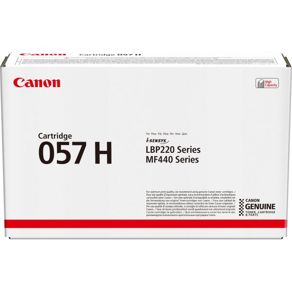 Canon CRG 057 H lasertoner, cyan, 10.000s
