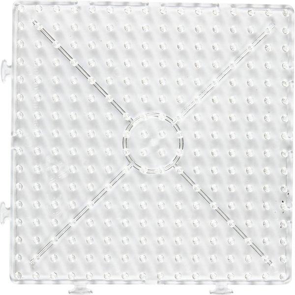 Nabbi Jumbo Perleplade, 15x15 cm, samlekvadrat