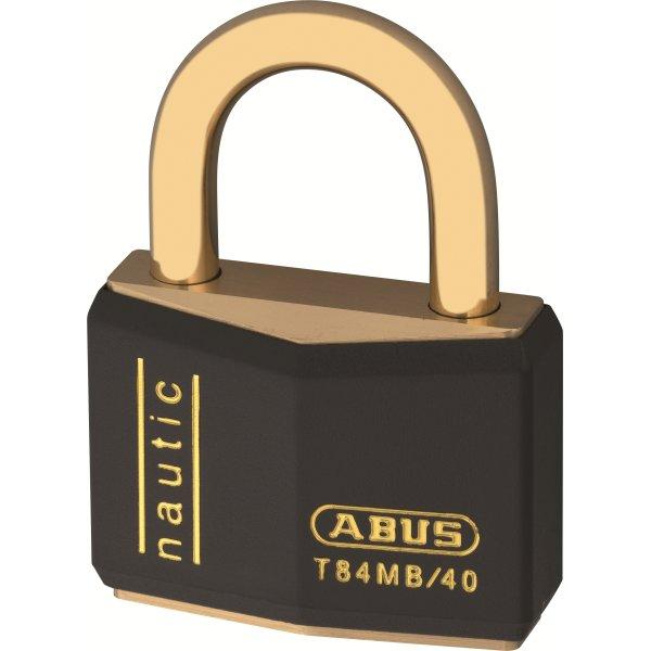 ABUS hængelås T84MB/40 mm - 2 stk enslukkende
