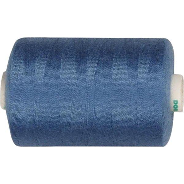 Sytråd, polyester, 1000 m, blå