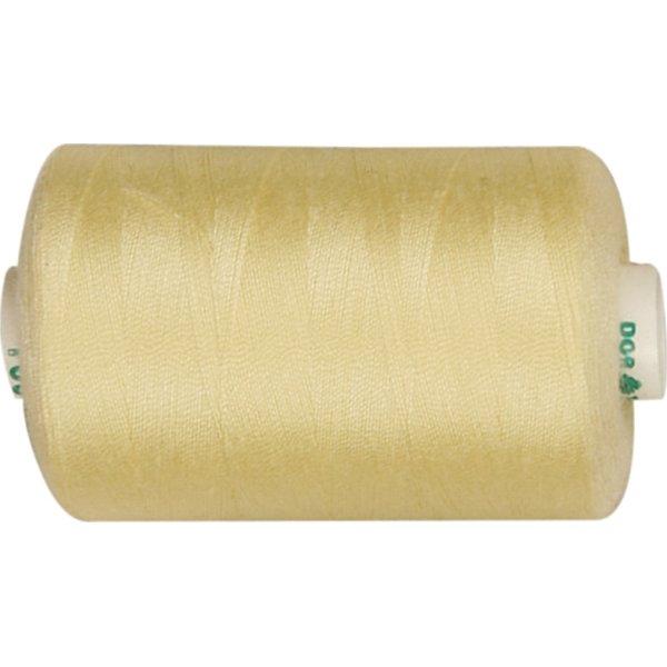 Sytråd, polyester, 1000 m, gul
