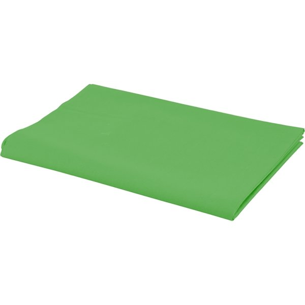 Bomuldsstof, 140g/m2, 1,45x10 m, grøn
