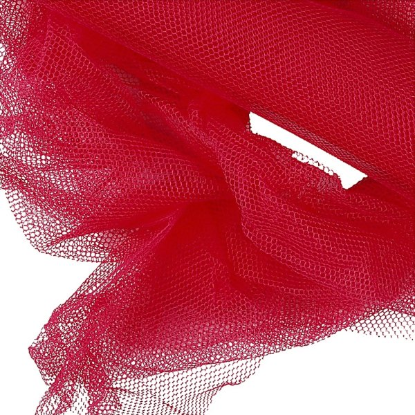 Tyl, 50cm x 5m, pink