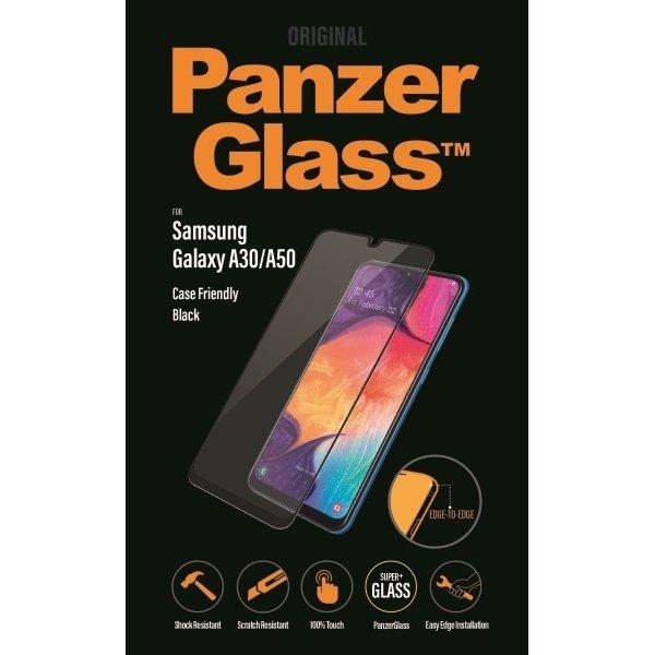 PanzerGlass Samsung Galaxy A30/A50, sort