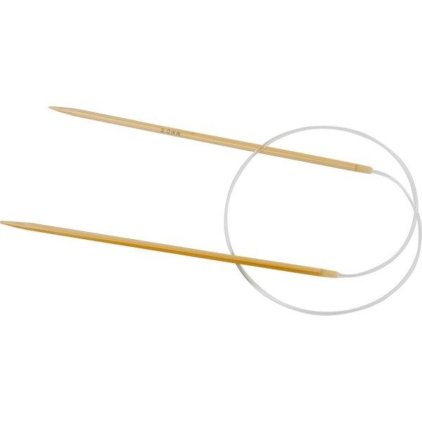 Rundpind, nr. 3, L: 60 cm, bambus