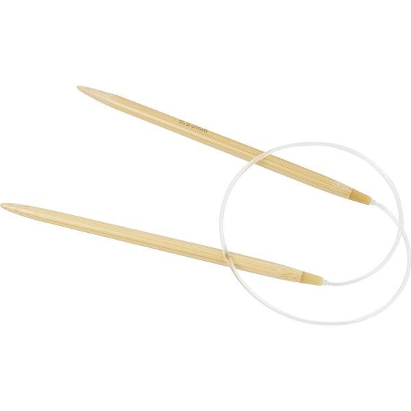 Rundpind, nr. 6,5, L: 60 cm, bambus