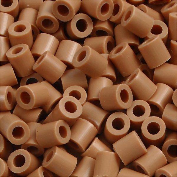 Nabbi Rørperler, 1100 stk, lys brun (20)