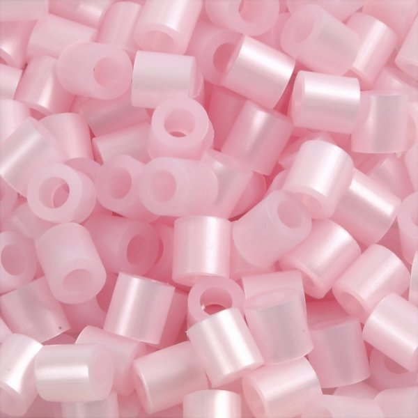 Nabbi Rørperler, 1100 stk, rosa perlemor (26)
