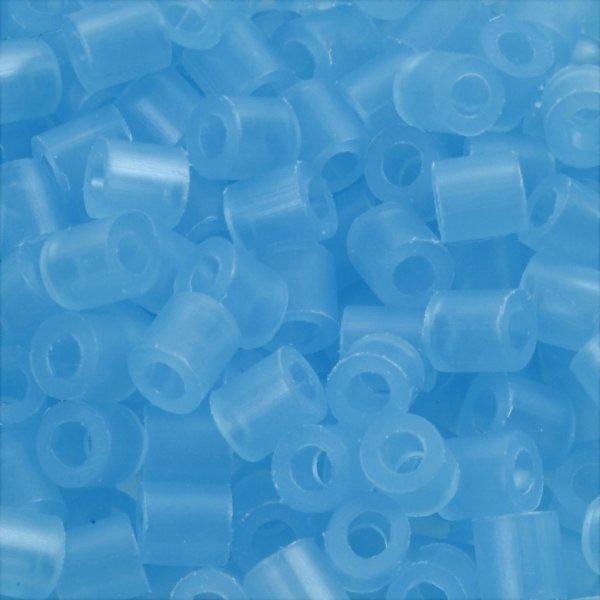Nabbi Rørperler, 1100 stk, blå neon (29)