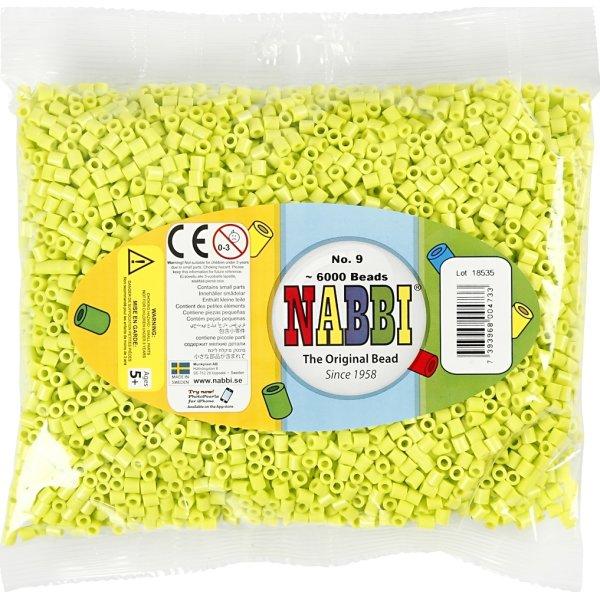 Nabbi Rørperler, 6000 stk, lime (9)