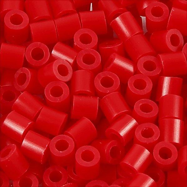 Nabbi Rørperler, 6000 stk, rød (57)