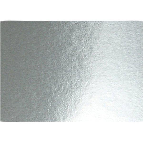 Metalkarton, A4, 280g, 10 ark, sølv