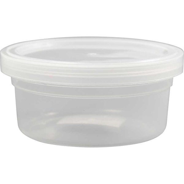 Plastbøtter, 125 ml, 20 stk