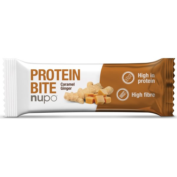 Nupo Protein Bite Karamel & Ingefær, 40 g