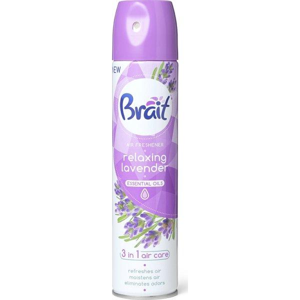 Brait Luftfrisker Spray, Lavendel, 300 ml