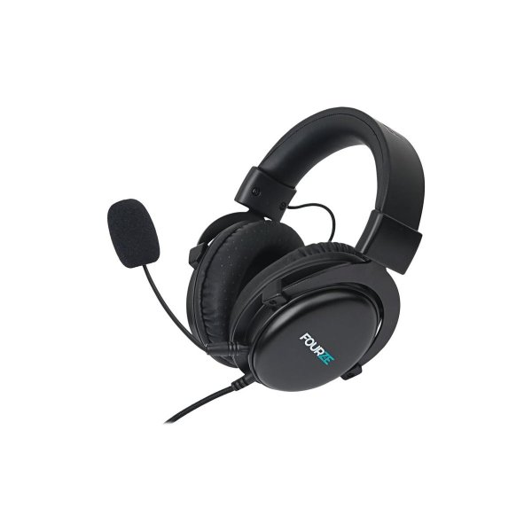 Fourze GH300 over-ear gaming headset, sort