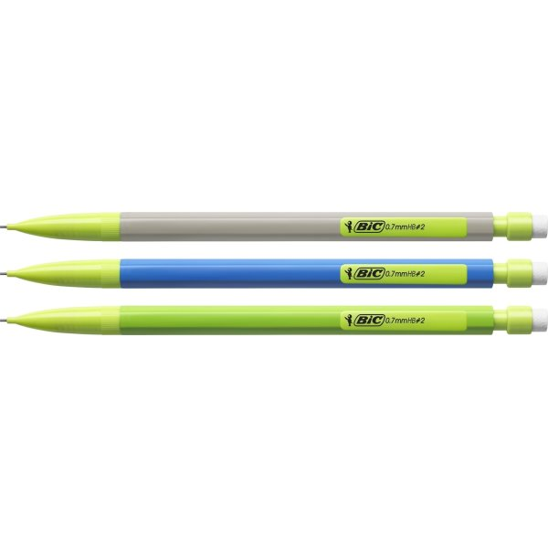 Bic Matic ECOlution pencil, 0,7 mm, ass. farver