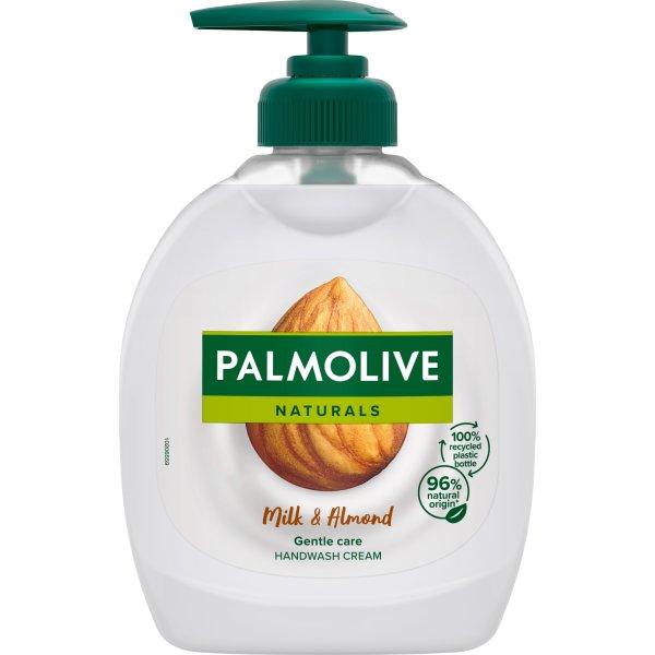 Palmolive Flyd. Håndsæbe, almond milk, 300 ml
