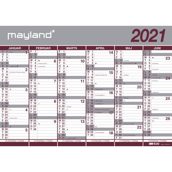 Kalender 2021 Gratis Download - Gratis Kalender Maken ...