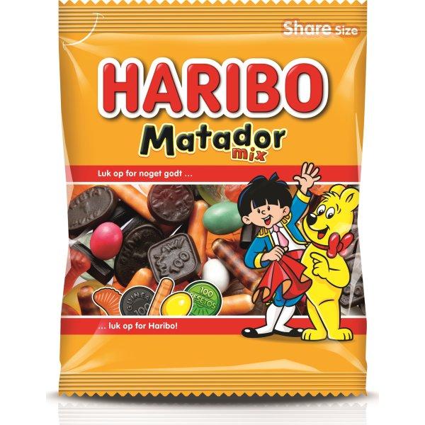 Haribo Matador Mix, 135 gram