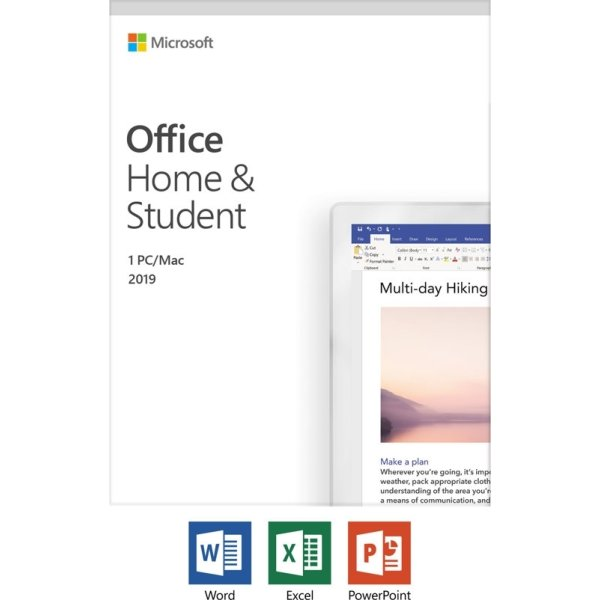 Microsoft Office Home and Student 2019, Dansk