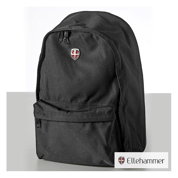 "Gave: Ellehammer sort rygsæk, 15,6"""