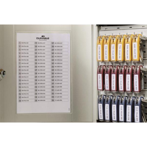 Durable Nøgleskab til 18 nøgler